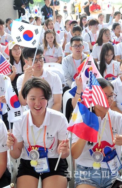 재외동포재단의 2019 재외동포 대학생 모국연수가 7월 9일부터 7박 8일 간 열리고 있다. [사진=재외동포재단]
